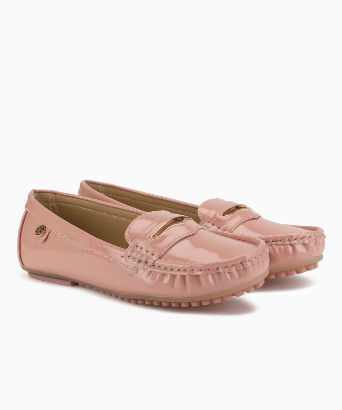 Carlton London Lofers For Women(Pink)
