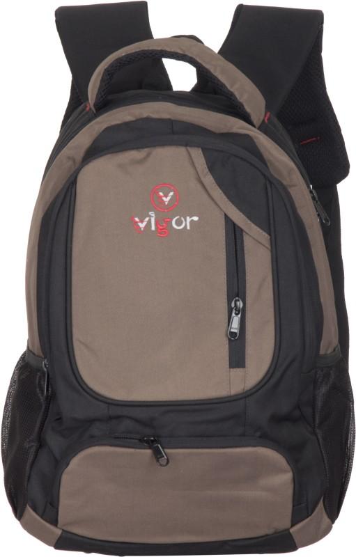 Vigor M33 30 L Backpack(Black, Beige)