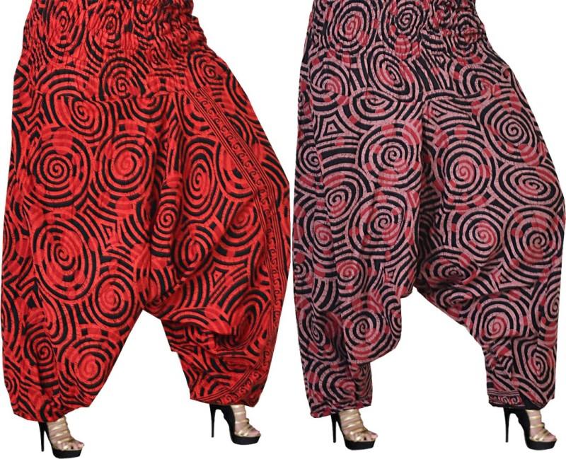 JWF Printed Cotton Women's Harem Pants