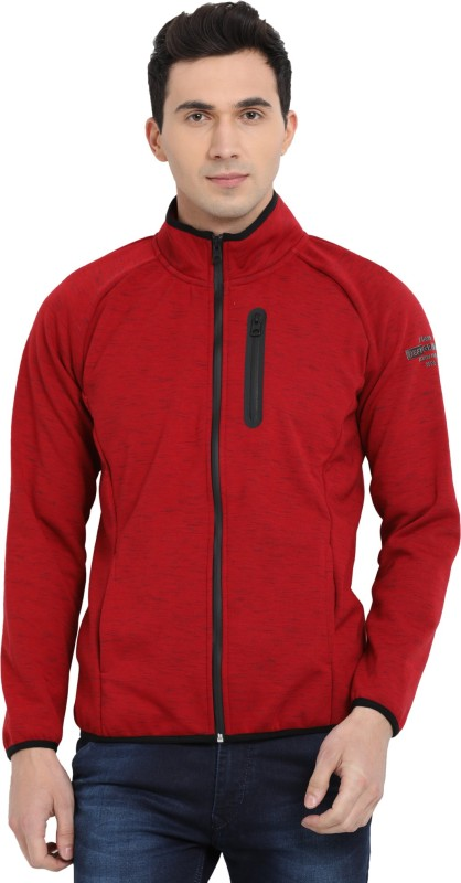T-Base Full Sleeve Self Design Men's Jacket