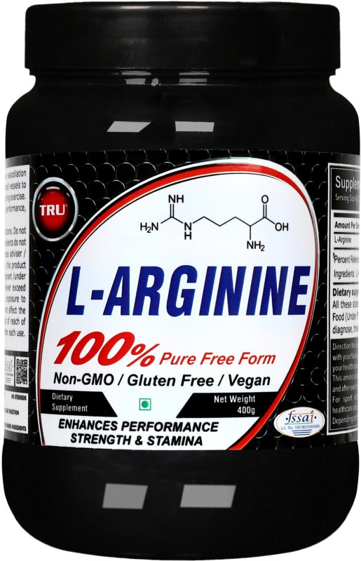TRU L-ARGININE EAA (Essential Amino Acids)(400 g, Unflavored)