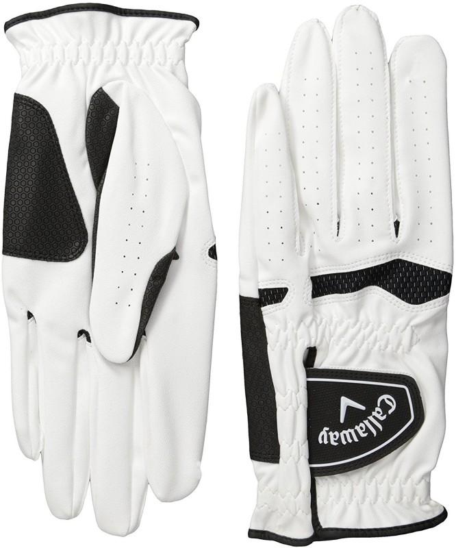 Callaway Men's Xtreme 365 Golf Gloves(Pack of 2) Golf Gloves (M, White)