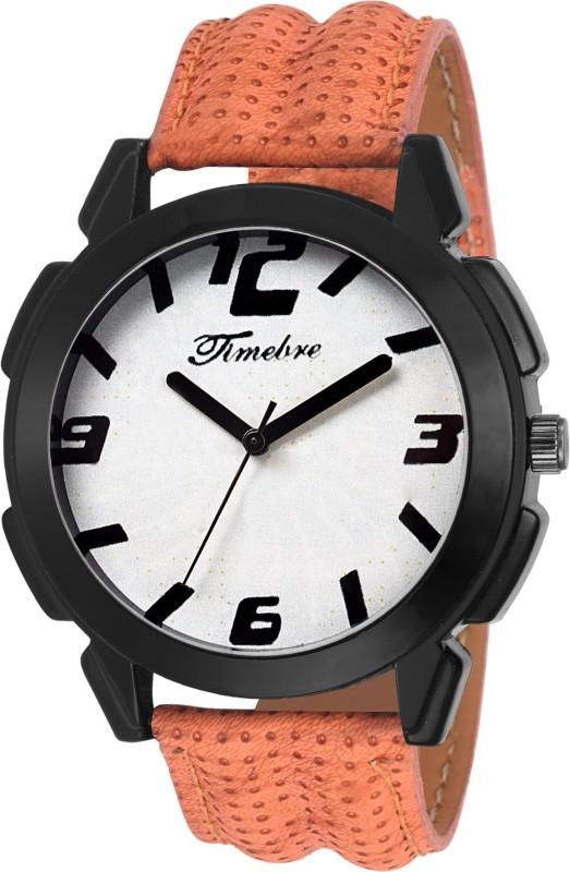 Timebre MXBLK696 White Dial Men's Watch image