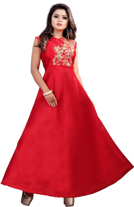 Spangel Enterprise Ball Gown(Red)