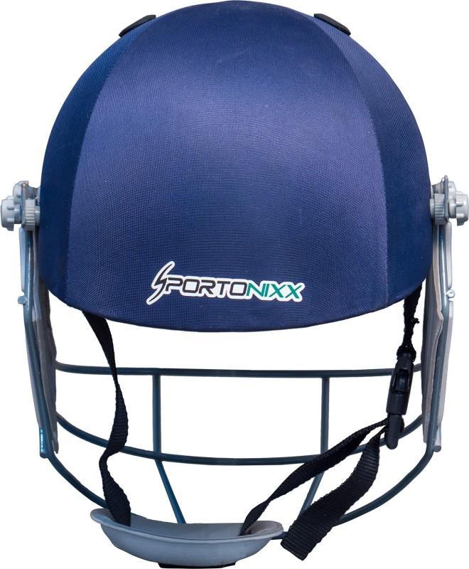 Sportonixx | LEGEND | MEN | MILD STEEL GRILL CRICKET HELMET| SIZE Men Cricket Helmet(Blue)