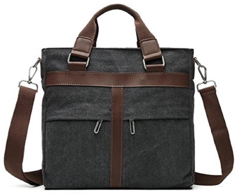 HANDCUFFS 14 inch Laptop Messenger Bag(Grey)