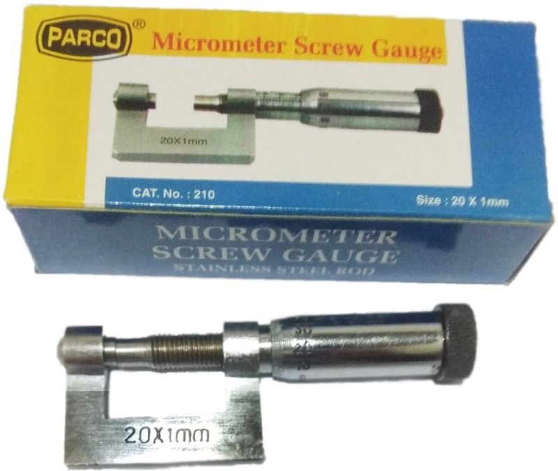 PARCO 20X1mm Micrometer Screw Gauge