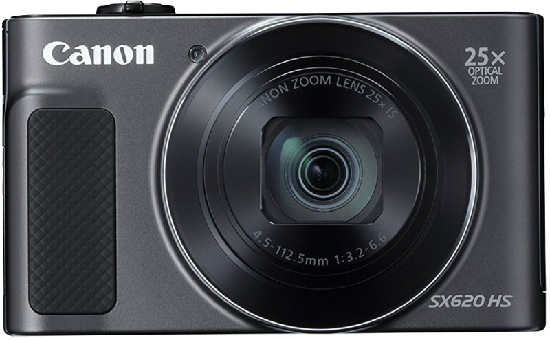 Canon Powershot SX620 HS Point and Shoot Camera(20.2 MP, 25x Zoom Optical Zoom, 25 Digital Zoom, Black)