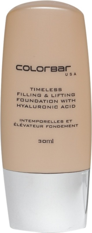 Colorbar Timeless Filling & Lifting Foundation(01 Light Linen, 30 ml)