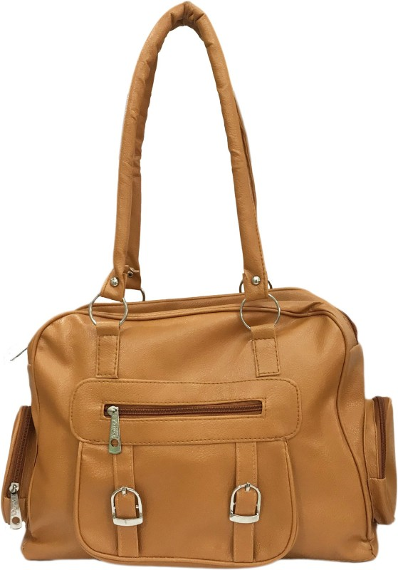 Ferishta Women Tan Shoulder Bag