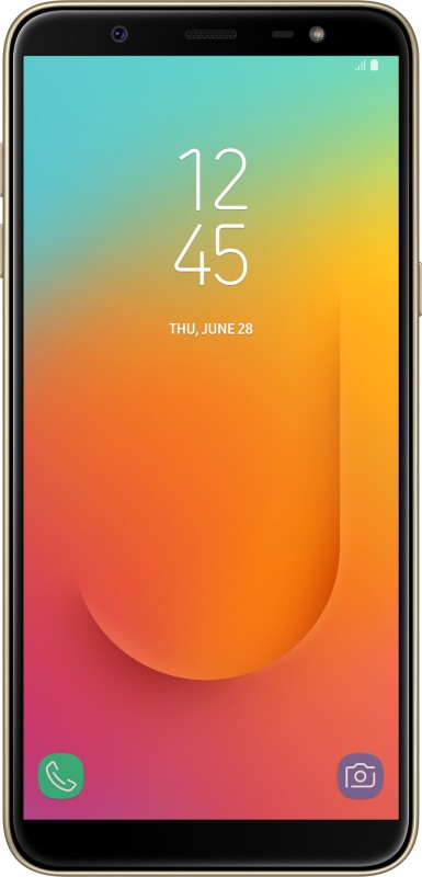 Samsung Galaxy J8 (Gold, 64 GB)(4 GB RAM)