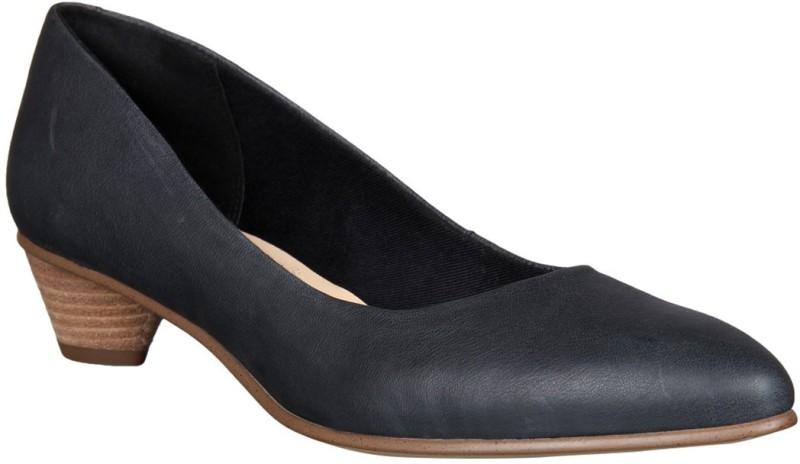 Clarks Women Black Heels