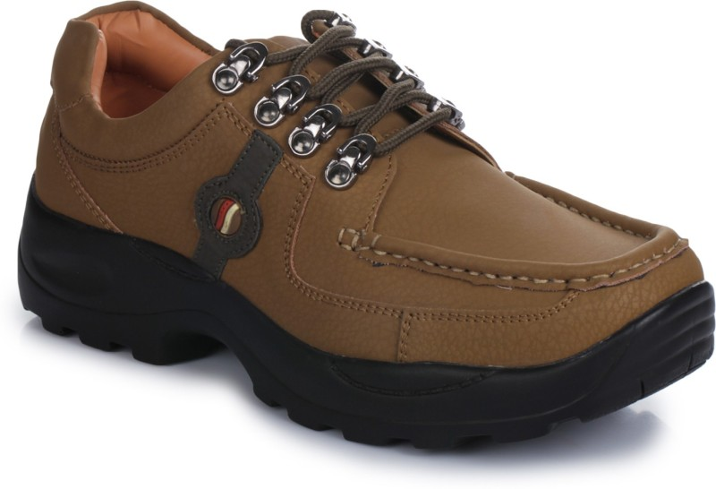 Action Shoes Casuals For Men(Brown)