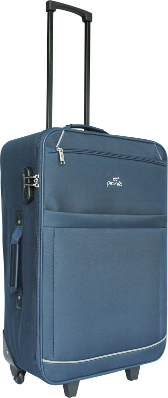 Pronto Bali Check-in Luggage - 24 inch(Blue)