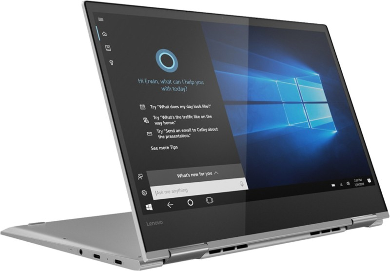 Lenovo Yoga 730 Core i7 8th Gen - (8 GB/512 GB SSD/Windows 10 Home) 730-13IKB Thin and Light Laptop(13.3 inch, Platinum, 1.12 kg, With MS Office)