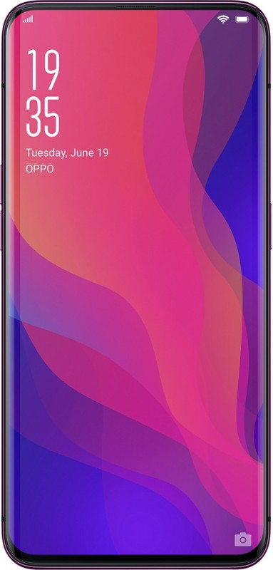 OPPO Find X (Bordeaux Red, 256 GB)(8 GB RAM)
