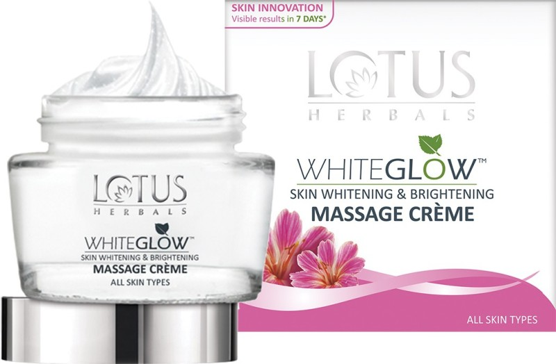 Lotus White Glow Skin Whitening & Brightening Massage Creme(60 g)