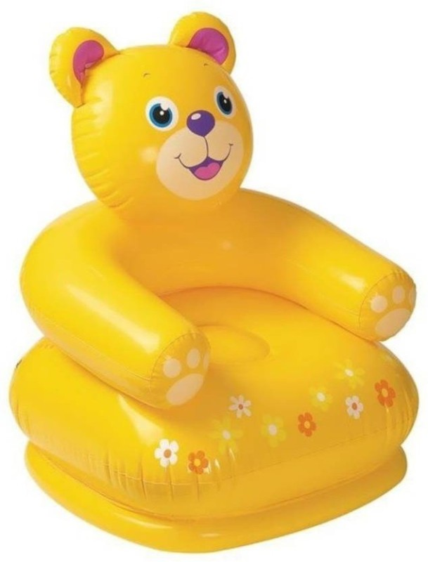 starsky Beautiful Teddy Chair For Children(Yellow)