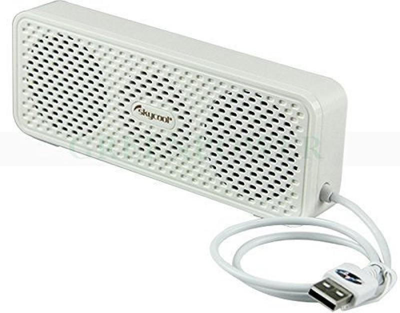 Mobilegear Mini USB Digital Sound Good Bass & Treble Music Quality (No AUX Required) for Notebook PC & Macbook 6 W Laptop/Desktop Speaker(White, 2.1 Channel)