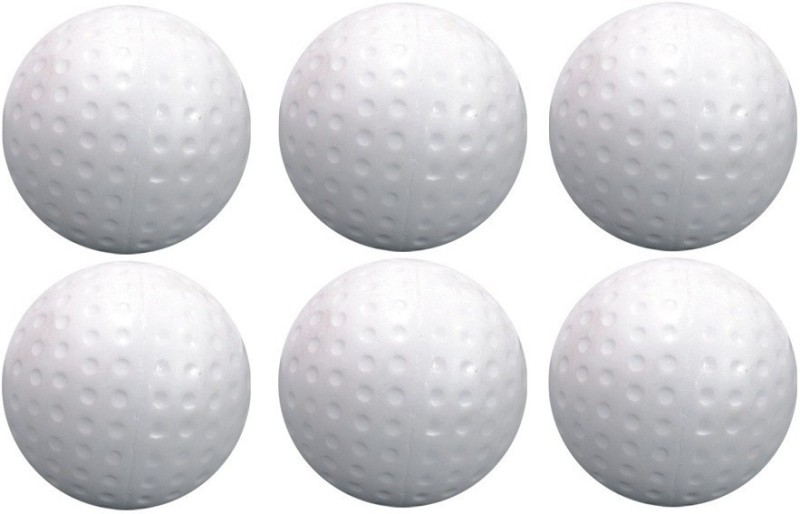Ceela Sports Dimple Hockey Ball(Pack of 6, White)