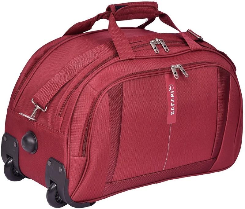 Safari 21 inch/53 cm Revv RDFL Duffel Strolley Bag(Maroon)