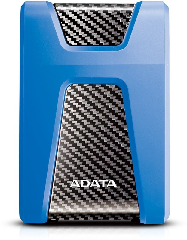 ADATA 2 TB External Hard Disk Drive with 2 TB Cloud Storage(Blue)