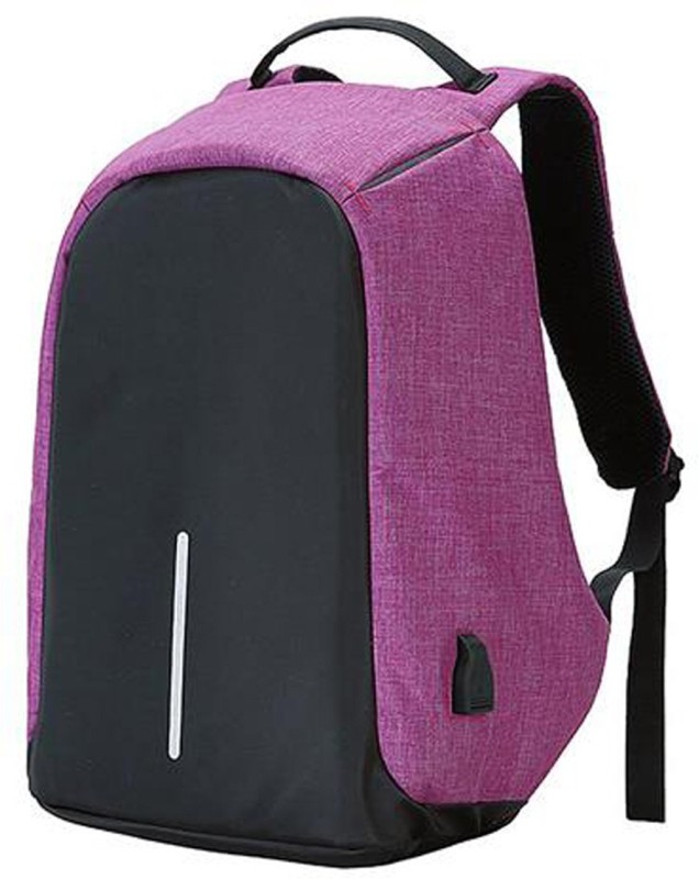 Cp Bigbasket 15.6 inch Expandable Laptop Backpack(Purple)