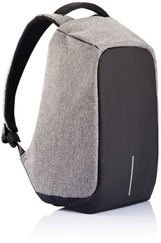 Cp Bigbasket 15.6 inch Expandable Laptop Backpack(Grey)