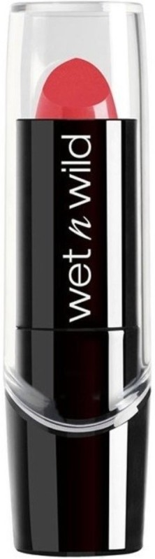 Wet n Wild Silk Finish Lipstick -(Hot Paris Pink, 3.6 g)