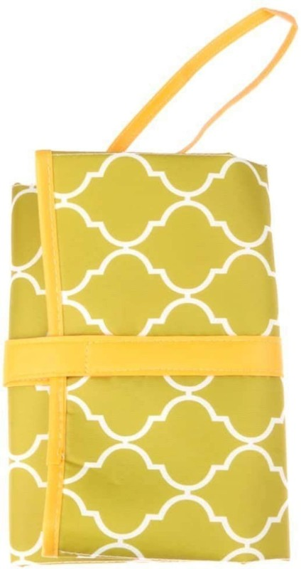 Baby Bucket Nylon Diaper Changing Mat(Green, Free)