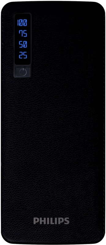Philips 11000 mAh Power Bank (Fast Charging, 10 W)(Black, Lithium-ion)