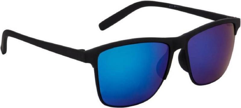 Vezel World Rectangular Sunglasses(Blue) image