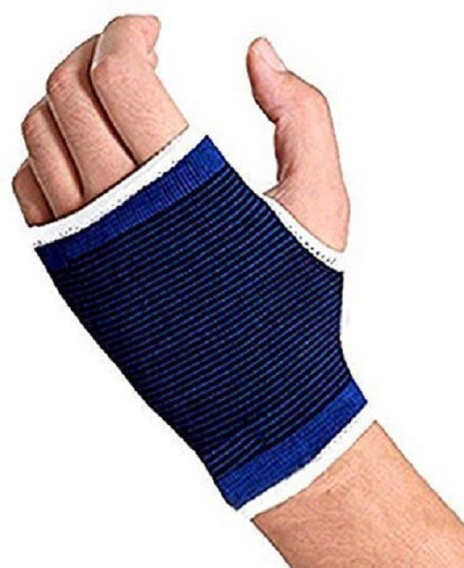 BISMAADH SUPPORT Palm & Elbow Support (Free Size, Blue)