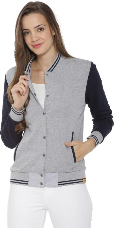 Campus Sutra Full Sleeve Solid Women Sweatshirt