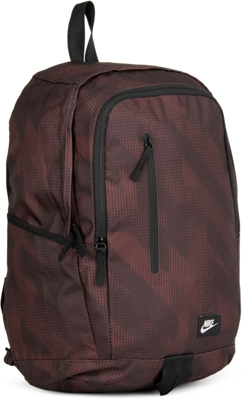 Nike NK ALL Access Soleday -D 15 L Backpack(Brown, Maroon)