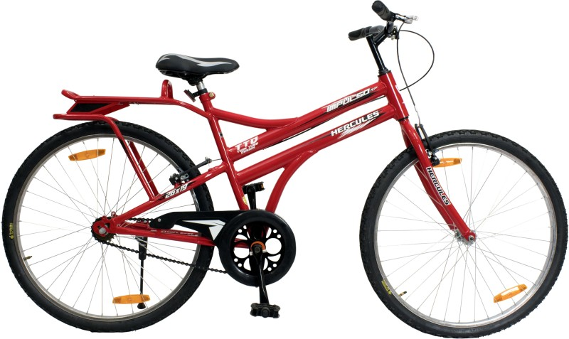 HERCULES Impulso RF 26 T Mountain Cycle(Single Speed, Red)