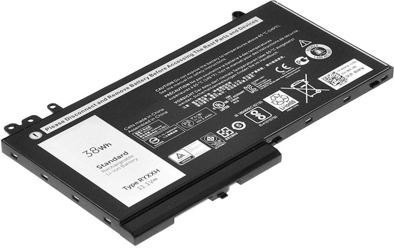 Dell Latitude E5250 Latitude E5270 Latitude E5550 11.1V 38Whr 3 Cell VVXTW/5TFCY 3 Cell Laptop Battery