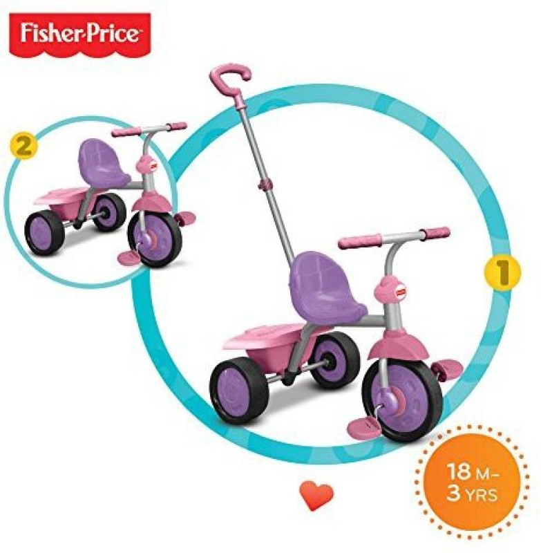 Fisher-Price 335-0233�Glee�Tricycle�Pink(Multicolor)