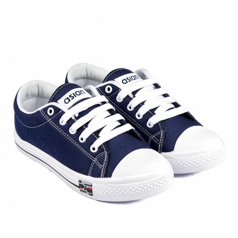 Asian PARIS-71 Canvas Shoes For Women(Blue, White)