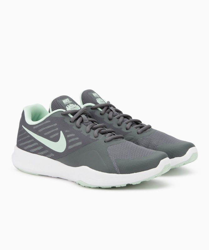 Nike WMNS NIKE CITY TRAINER Training & Gym Shoes For Women(Grey)