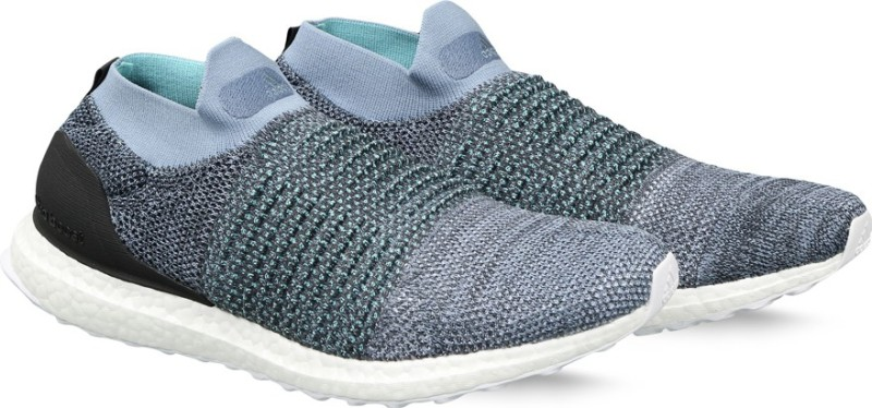 ADIDAS ULTRABOOST LACELESS PARLEY Running Shoes For Men(Grey)