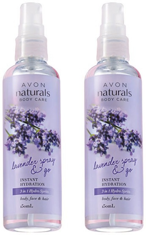 Avon Anew Naturals 3-in-1 Lavender Spray (set of 2 of 150 ml each)(150 ml)