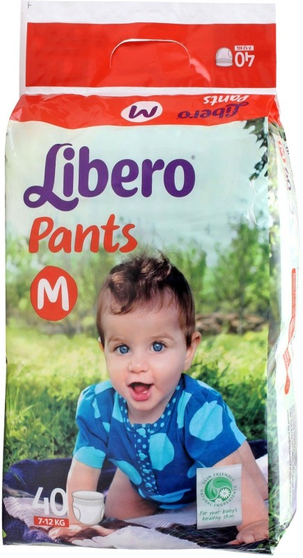 Libero Pants Diaper - M(40 Pieces)