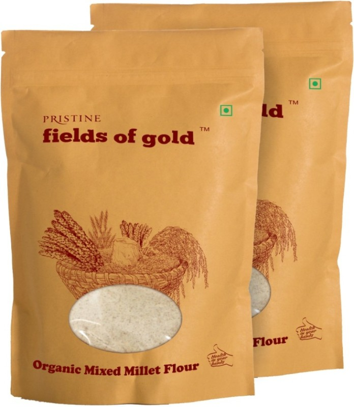 Fields of Gold Organic Mixed Millet Flour(1000 g, Pack of 2)