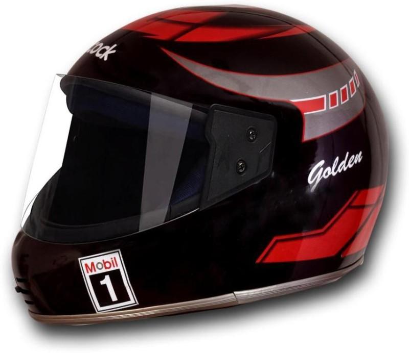 MOTOFLY GOLDEN X Motorbike Helmet(Black)