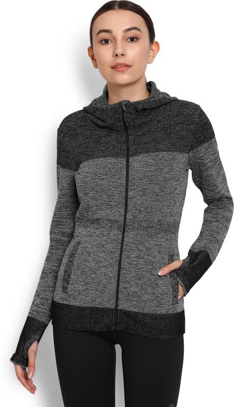 Asics Full Sleeve Self Design Women's Jacket