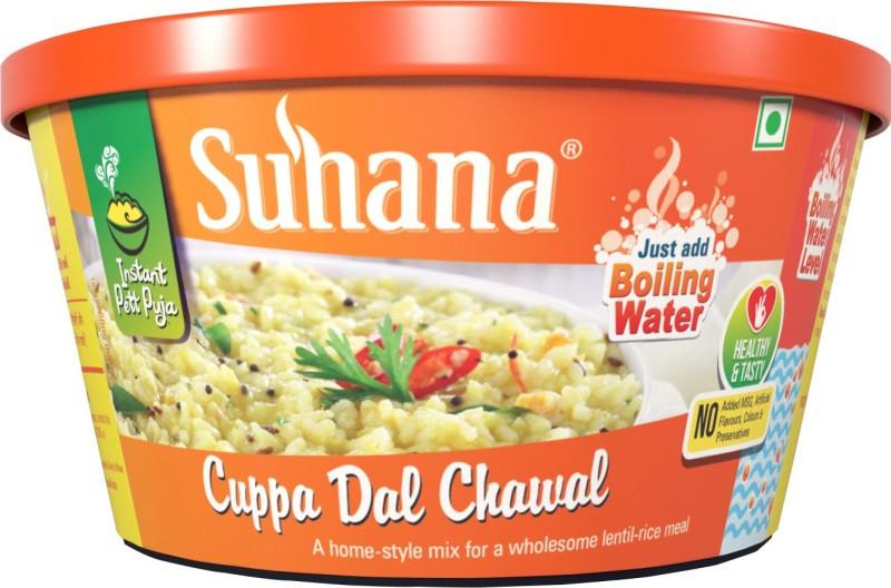 Suhana Cuppa Dal Chawal 80 g