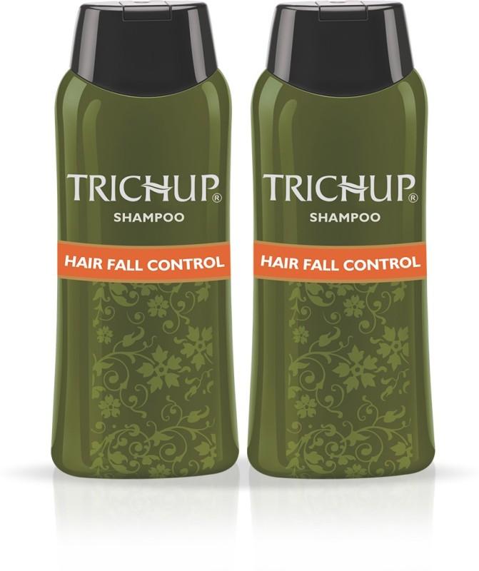 Trichup Hair Fall Control Herbal Shampoo 200 ml (Pack of 2)(200 ml)