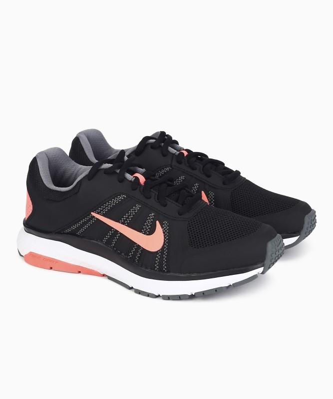 Nike WMNS DART 12 MSL Running Shoes For Women(Black)