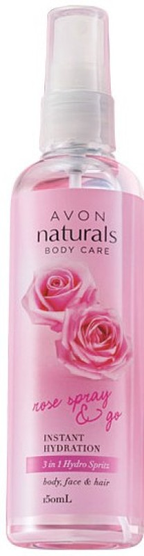 Avon Anew Naturals 3-in-1 Rose Spray 150 ml(150 ml)